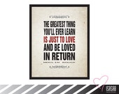 PRINTABLE / Moulin Rouge quote