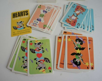 Great Graphics Vintage Hearts Card Game, 1960s
