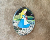 """CLEARANCE Sale! 2"""" Oval Image Cabochon Embellishment for DIY 1 pc"""
