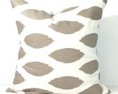 TAUPE PILLOWS.Pillow Cover, Decorative Pillow, Throw Pillow, Tan Pillows, Accent Pillow, Neutral Pillow Covers, Euro Pillow, Cushion