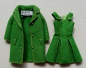 Vintage Skipper town togs dress and coat.
