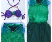 LYNNEA- mermaid costume for girls and toddlers, high waist  mermaid tail, walkable mermaid tail, mermaid outfit, mermaid tails, soft shell