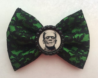 Frankenstein Monster Hair Bow