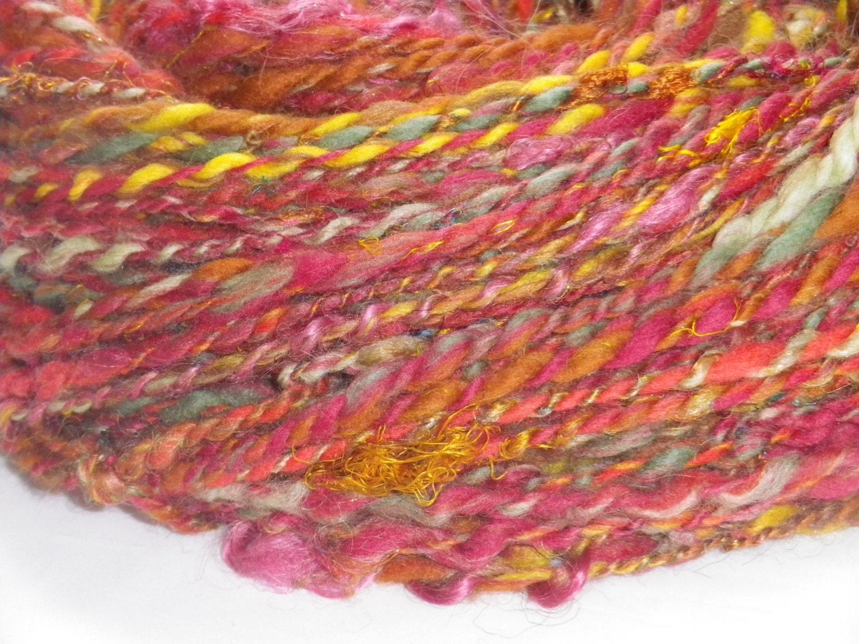 Crochet Kit - Handspun Yarn & Cowl Pattern - FALLING ...