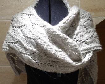 Hand Knitted Rowan Cocoon Scarf