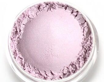 "Stardust Highlighting Powder - ""Cosmos"" (light lavender / lilac highlight, Net Wt 3g jar) - Vegan Makeup Highlighter"