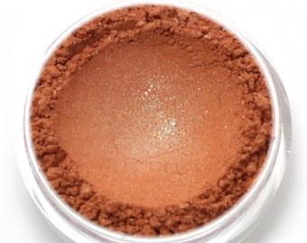 """Shimmery Orange Eyeshadow - """"Rikku"""" - Vegan Mineral Eyeshadow Net Wt 2g Mineral Makeup Eye Color Pigment"""