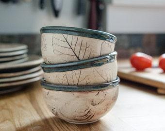 Tiny Round Bowl - Ceramic Baking Ramekin - Yogurt cup - Condiment dish