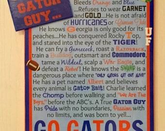A True Gator Guy Canvas