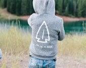 SALE   Anasazi Arrowhead   Salt & Pepper Hoodie   Toddler/ Child Hoodie