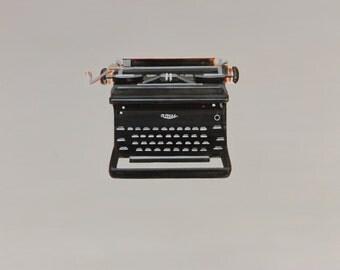 Vintage Upright Royal Typewriter