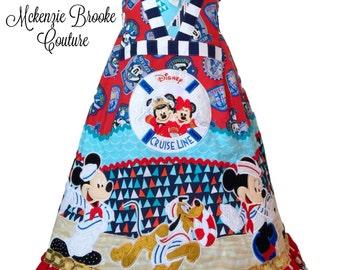 Disney Cruise Custom Boutique Dress