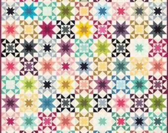 Rising Star Quilt Kit Ombre's by V and Co -