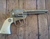 Reserved for Emie Benton Buckeroo Toy Cap Gun Actoy Diecast Cap Pistol