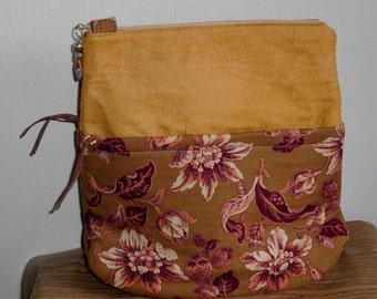 Handmade Shoulder Bag, Kentucky Crafted, Medium Size, Fall Colors