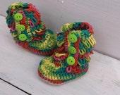 Crochet Baby Boots, Ugg Booties, Crochet Baby Shoes