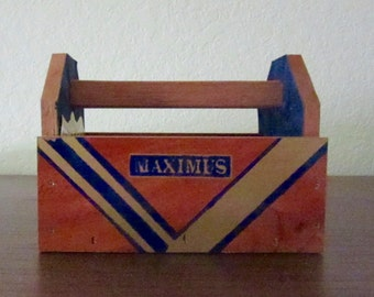 Tool Box-Miniature-Altered Cigar Box