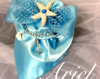 "Ariel ""Blue Gown"" Fascinator"