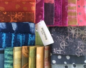 BOOKENDS Fat Quarter Bundle by Marcia Derse, 22 pieces