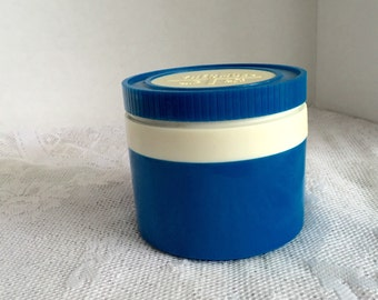 Vintage Thermos Insulated Jar Blue Soup Thermos for School or Work by King Seeley