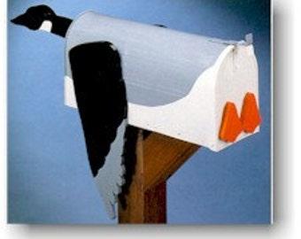Rural Bird mailboxes - Goose mailbox