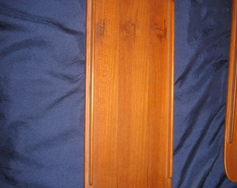 Sweden Söwa Konst Mid Century wood tray L.40 cm W.14 cm top