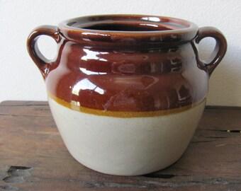 Vintage 1920's Stoneware Pot
