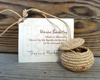Warao Treasure Basket