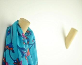 Wooden Wall Hooks / Wooden Coat Hooks
