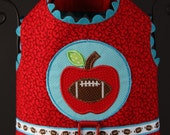Turquoise Fall Apple DOG HARNESS