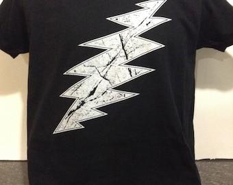 Grateful Dead Lightning Bolt shirt