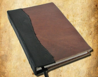 Blank Leather Book Perfect for a Journal or Sketchbook