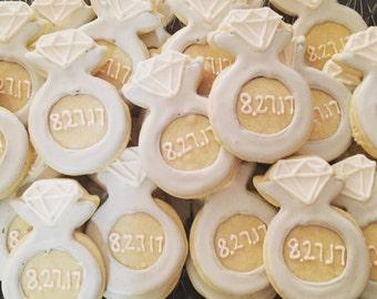 Wedding Ring Cookies (2Dozen)
