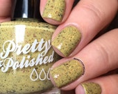 Fuzzy Sweater Glitter Nail Polish