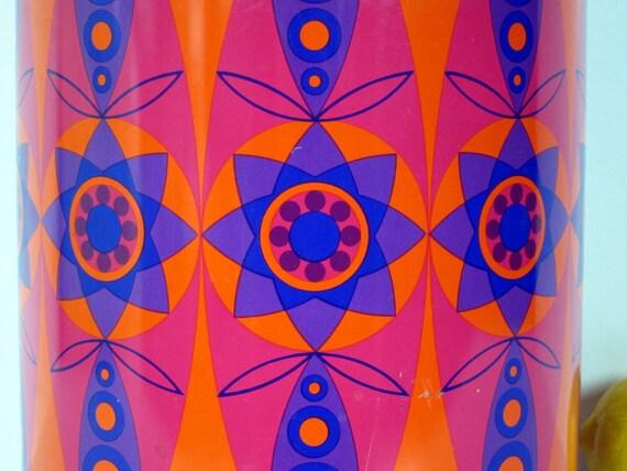 XL Tomado Kanister orange lila hot pink von kitchenology auf Etsy