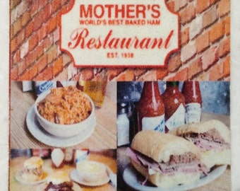 Mother's Restaurant Coaster New Orleans