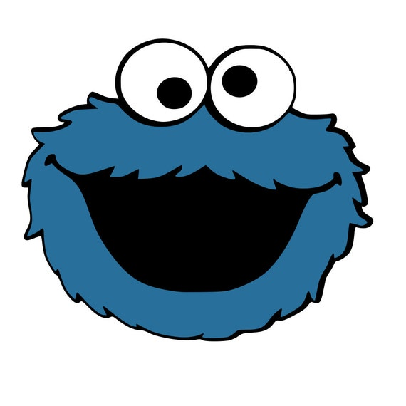 how to make cookie monster face