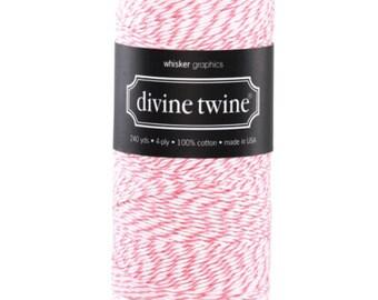 Raspberry - Divine Twine - 20 yards