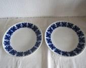 Beautifull vintage Rorstrand design Mon Amie plates 2x