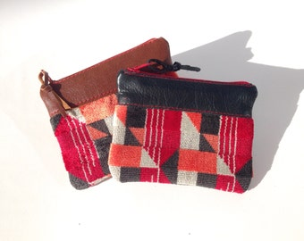 London Underground Piccadilly Line Moquette Coin Purse
