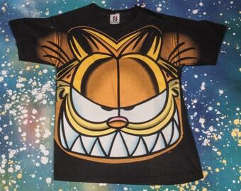 GARFIELD  Cartoon T-Shirt Size L