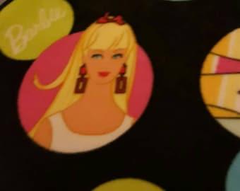 Barbie Fleece Tie Blanket
