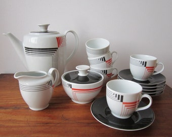 East German Tea Set - Vintage