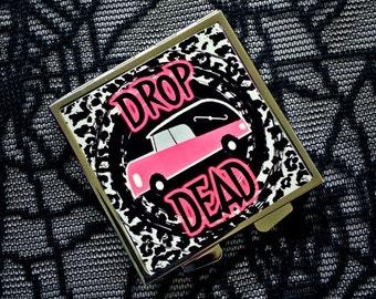 Drop Dead compact mirror