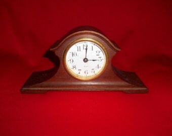 One (1), 8 Day, Mantle Clock from Seth Thomas,