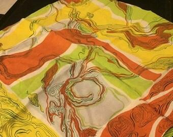 Glentex Large Silk Scarf
