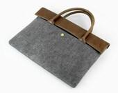 "20% OFF for 11"" 13'' 15"" Macbook Air Macbook Sleeve 13'' Retina Pro Laptop Sleeve Laptop Case Leather Bag Laptop Bag Briefcase E2434"