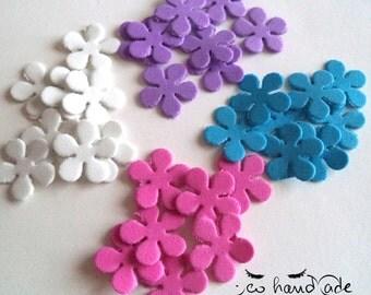 Rubber flowers - stars - Teddy bears - hearts - butterflies
