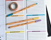 Digital Download - Weekly Planner