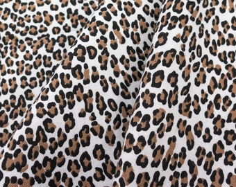 ℳ Baby leopard Print 100% Cotton 57 Inches Wide FC11776